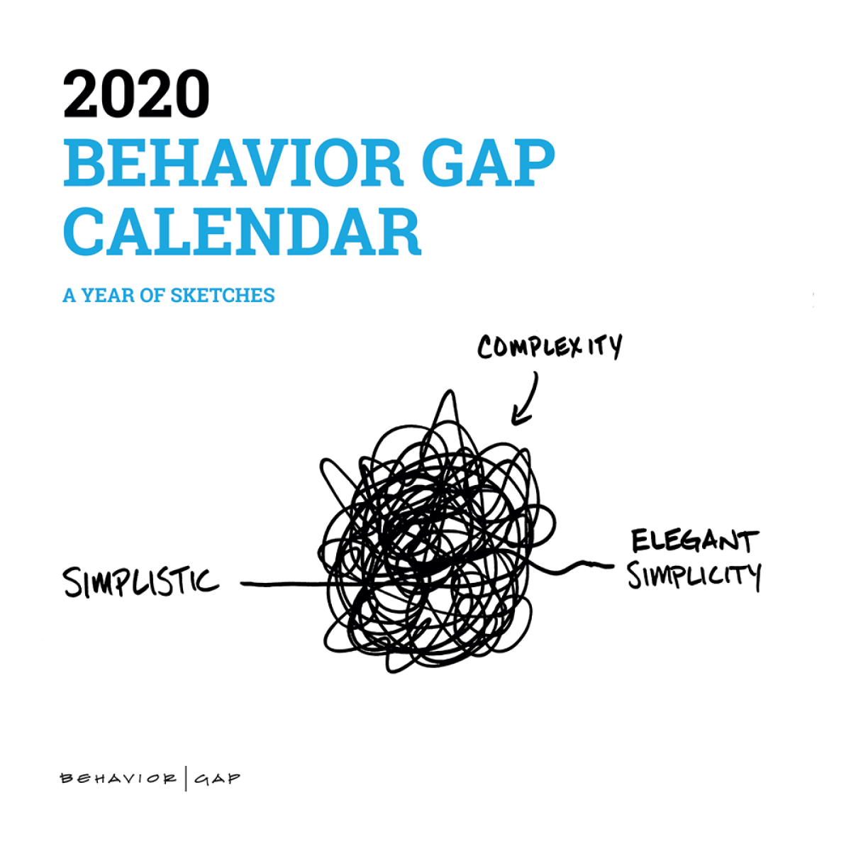 2020 Behavior Gap Calendar